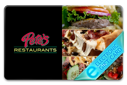 Pete's Restaurant & Brewhouse E-Gift Card